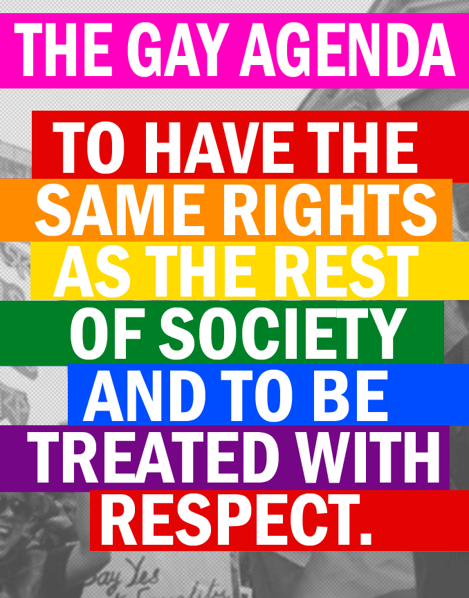 exposed gay agenda