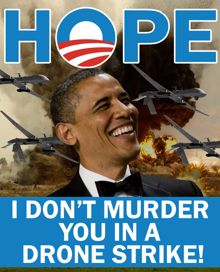 Obama Drones On by Party9999999