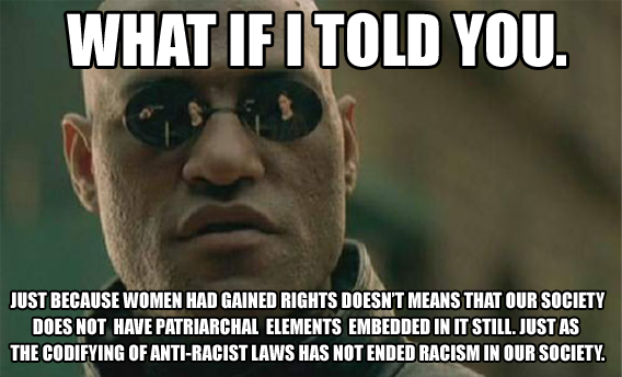 Morpheus on Sexism 3 by Party9999999