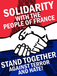 Solidarity with France