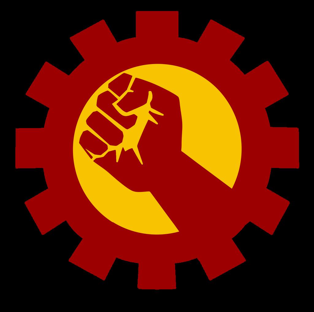 fist communist iron