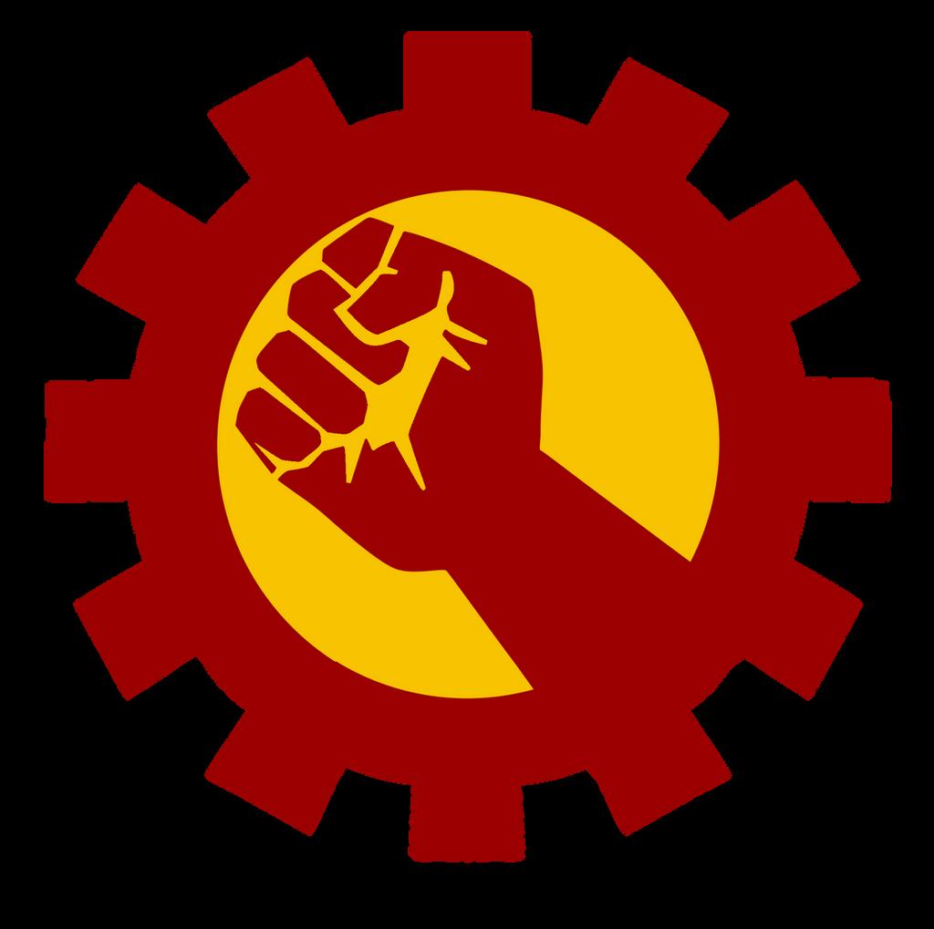 Gear and Fist Emblem
