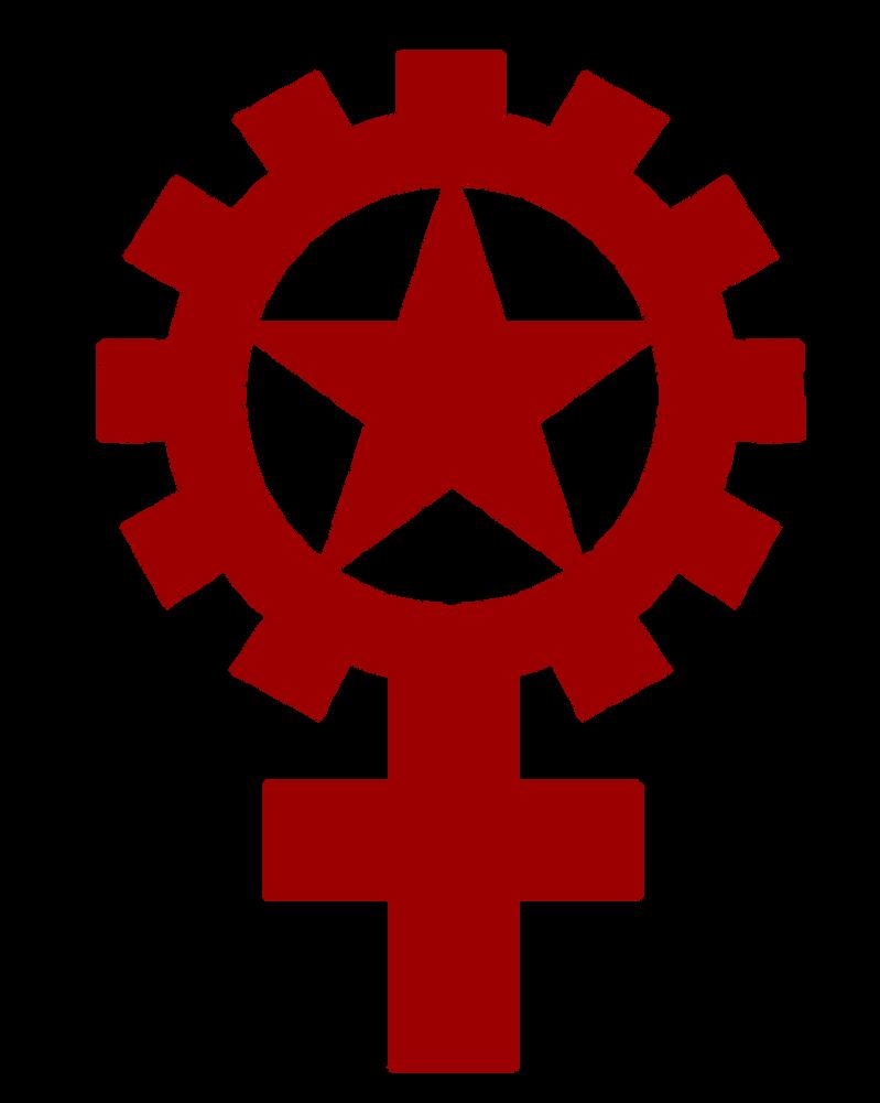 Marxist Feminism Emblem By Party9999999 On Deviantart