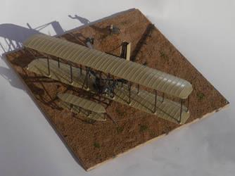Wright Flyer Diorama 1