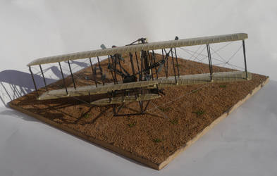Wright Flyer Diorama 3