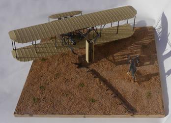 Wright Flyer Diorama 4