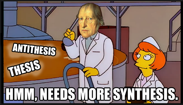 Hegel Synthesis Meme by Party9999999