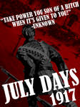 July Days 1917 Centenary