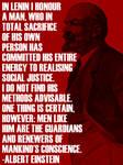 Honouring Lenin