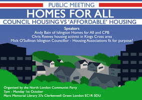 CP Housing Meeting Flyer by Party9999999