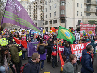 March Against Racism by Party9999999