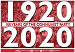 YCL Communist Party Centenary Poster by Party9999999