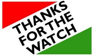 Thanks for the Watch Graphic by Party9999999