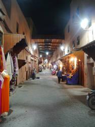 The Market at Night