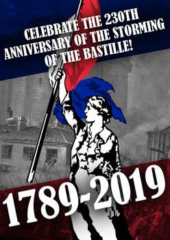 Bastille Day Poster 2019