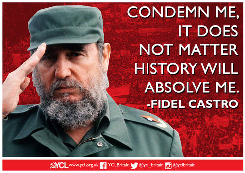 YCL Fidel Absolved By History