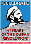 YCL 61 Years of the Cuban Revolution