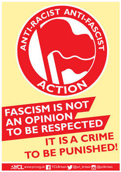 YCL Fascism is a Crime
