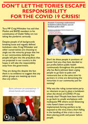 YCL BAME Covid Leaflet side 1 by Party9999999