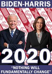 Biden Harris 2020 (Honest Poster)