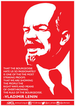 YCL Lenin on the Hatred of the Bourgeoisie