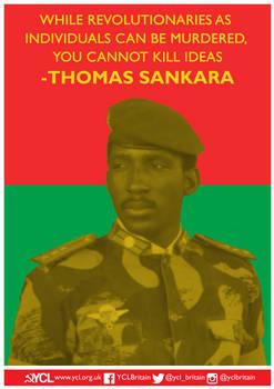 YCL Thomas Sankara Poster