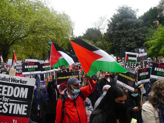 London March for Palestine 4