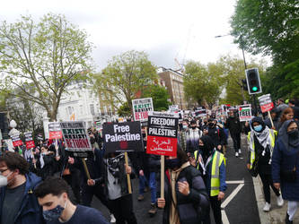 London March for Palestine 7