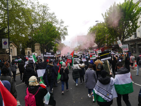 London March for Palestine 8
