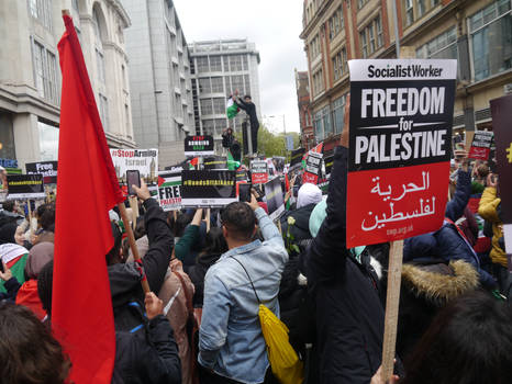 London March for Palestine 9