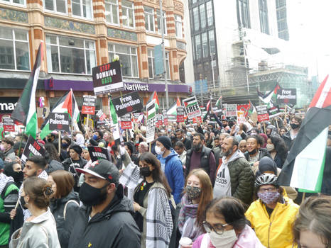 London March for Palestine 10