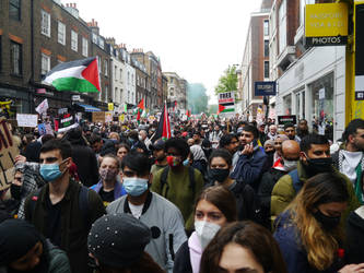 London March for Palestine 11
