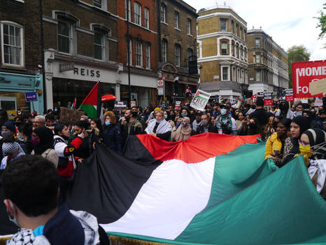 London March for Palestine 12