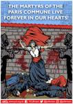 YCL Paris Commune 150 Poster