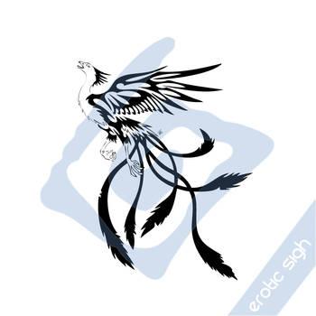 Tribal Phoenix v4 by Erotic-sigh