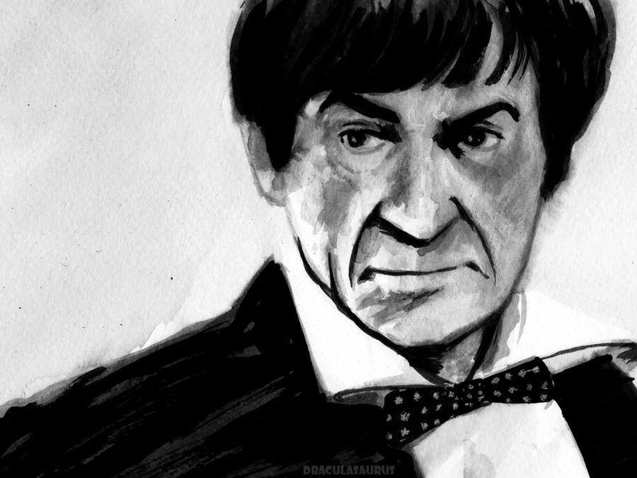 patrick troughton omen death
