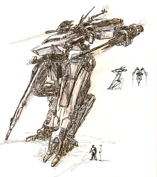 Mecha-tank Concept by Robot-Ninja
