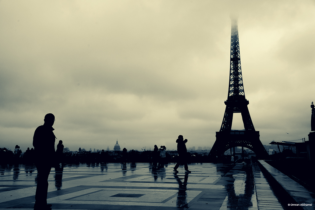 By the Eiffel Tower by uae4u
