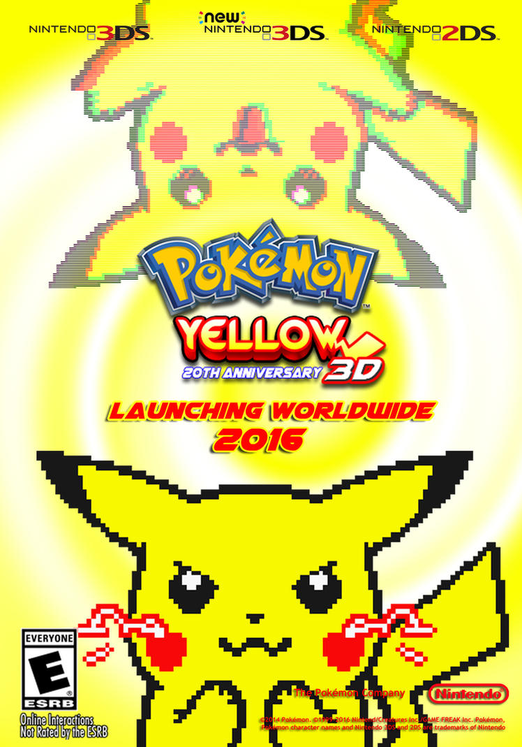 Pokemon yellow remake poster by spham9 on deviantart pokemon yellow remake poster by spham9 publicscrutiny Image collections