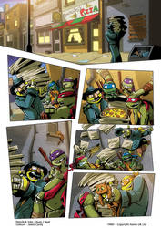 TMNT - Takeout Page 1 by ryanneal