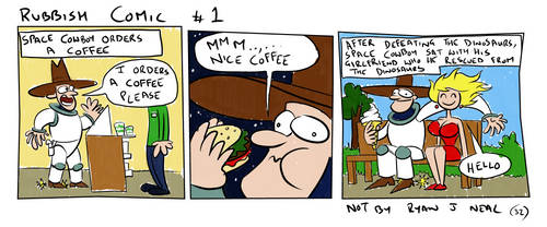 Rubbish Comic #1 by ryanneal