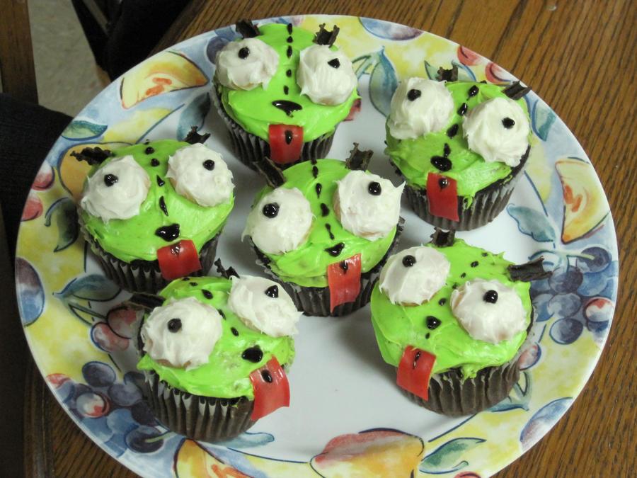 gir cupcakes by featherfire520 on deviantart