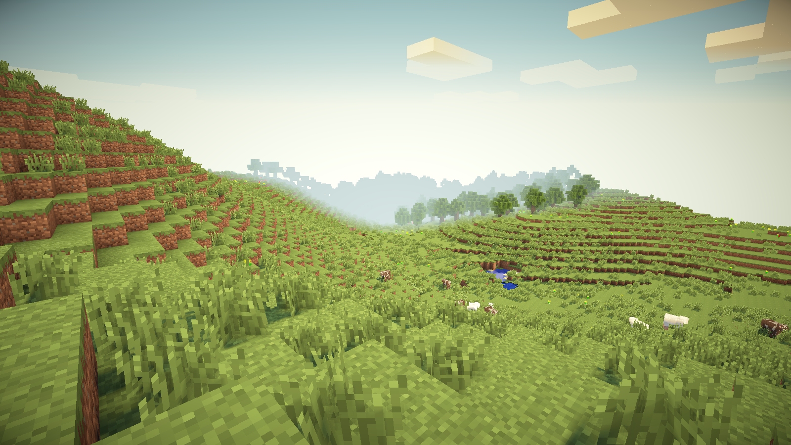 Wonderful Wallpaper Minecraft Scenery - minecraft__rolling_hills_by_syndicusx-d60gax3  Image_376542.png