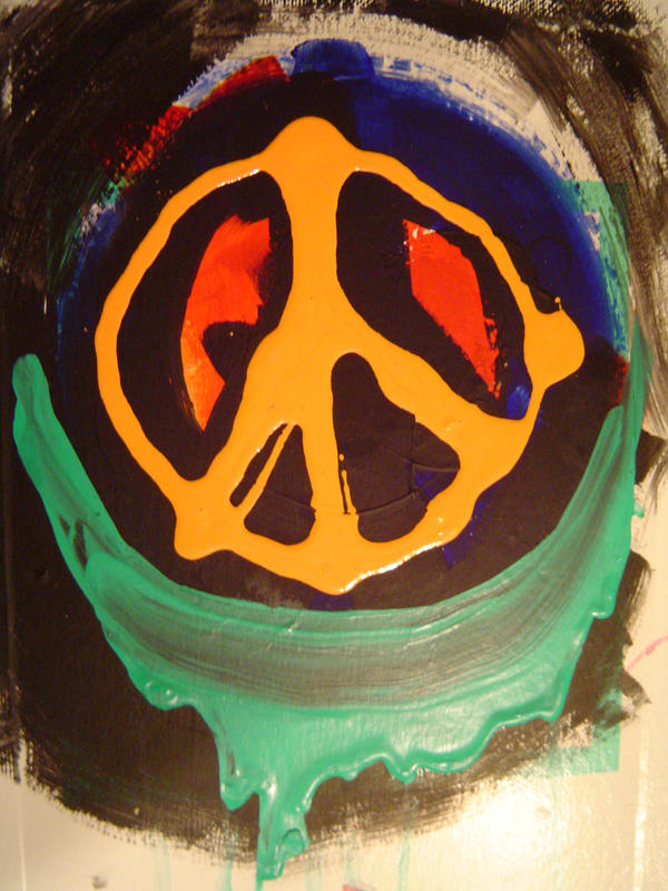 peace hippie by ARTTTTT