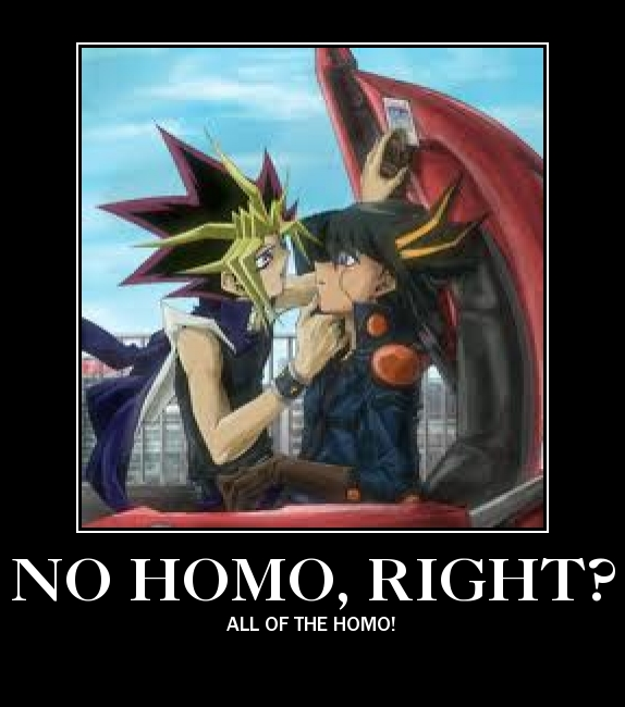 All of the Homo Demotivational by cryptidhunter41