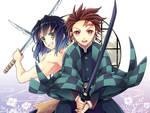 Tanjirou and Inosuke