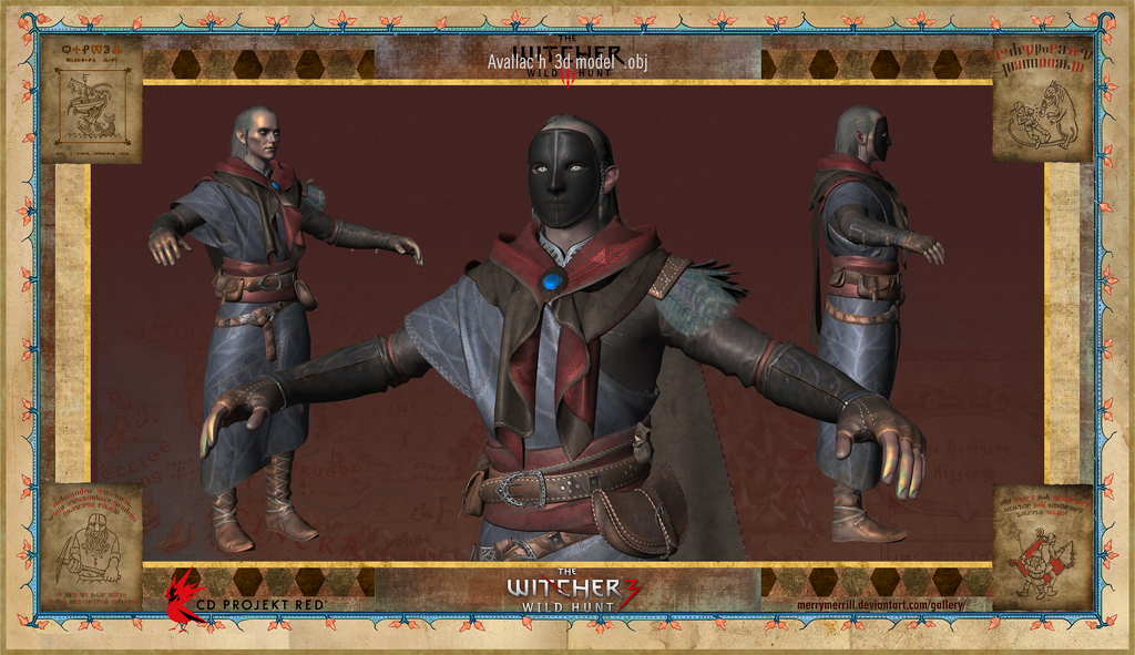 witcher 3 how to put on the mask