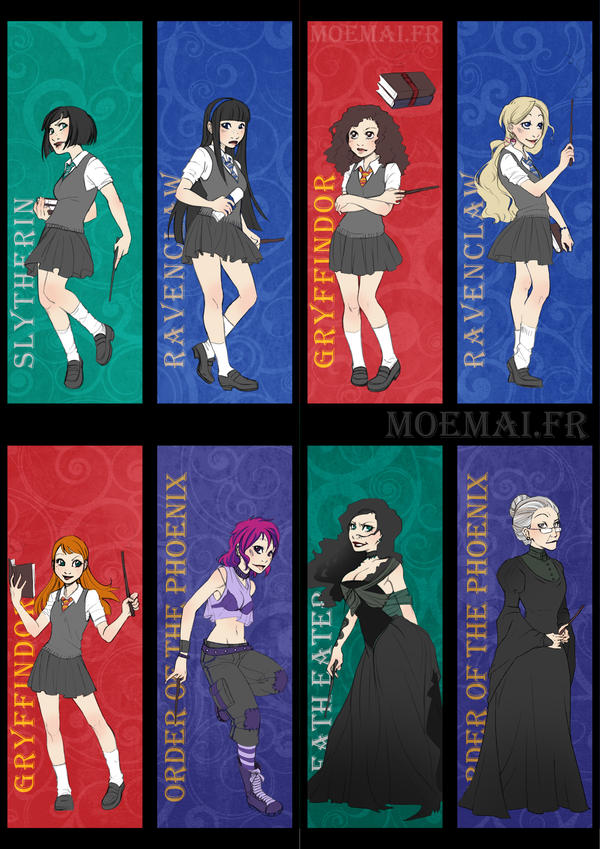 Harry Potter - Girl side by Moemai