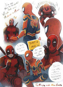 The Firsts and the Lasts - SpideyPool