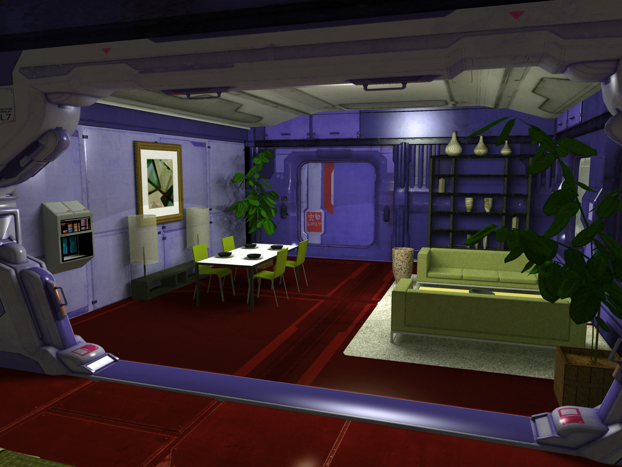 Ship Interior 02